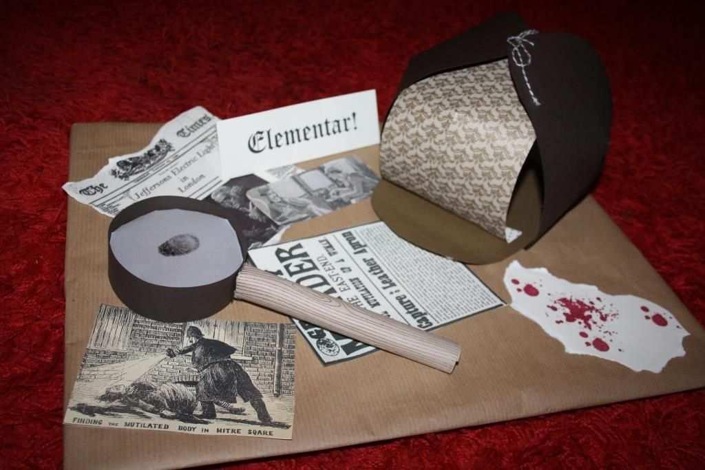 Krimi Dinner Geschenk Verpackung 1 Krimi Dinner Gutschein