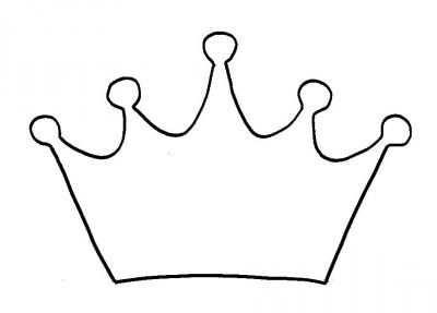 Ausmalbild Krone Krone Basteln Ausmalbild Einladungskarten
