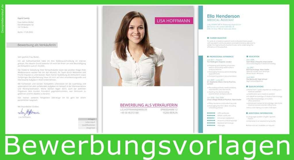 Muster Bewerbung Vom Designer Fur Ms Word Und Wps Office