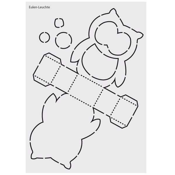 Design Schablone Nr 2 Laterne Basteln Vorlagen Laternen