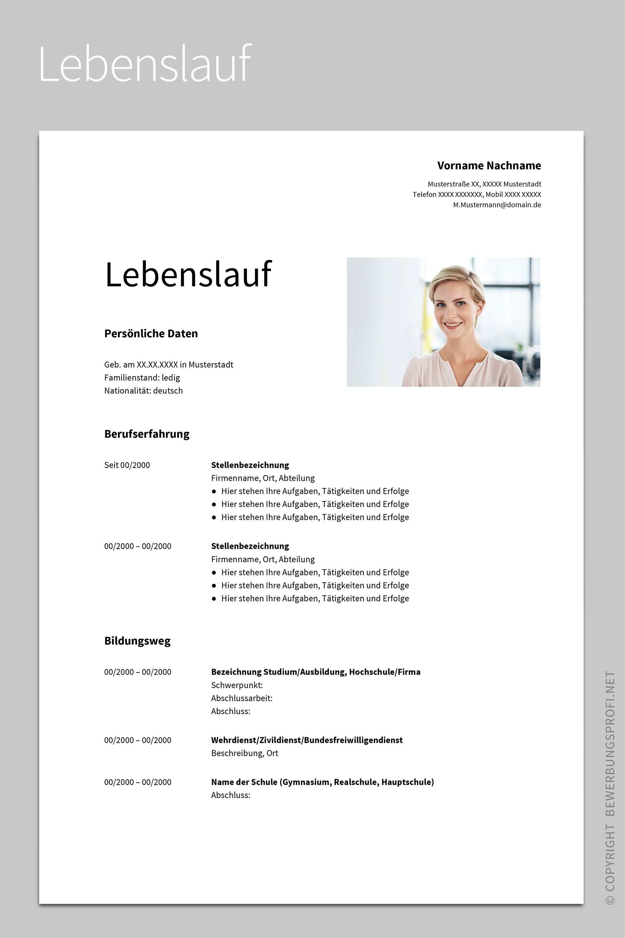 Bewerbung Albus 2020 Lebenslauf Lebenslauf Design Lebenslauf