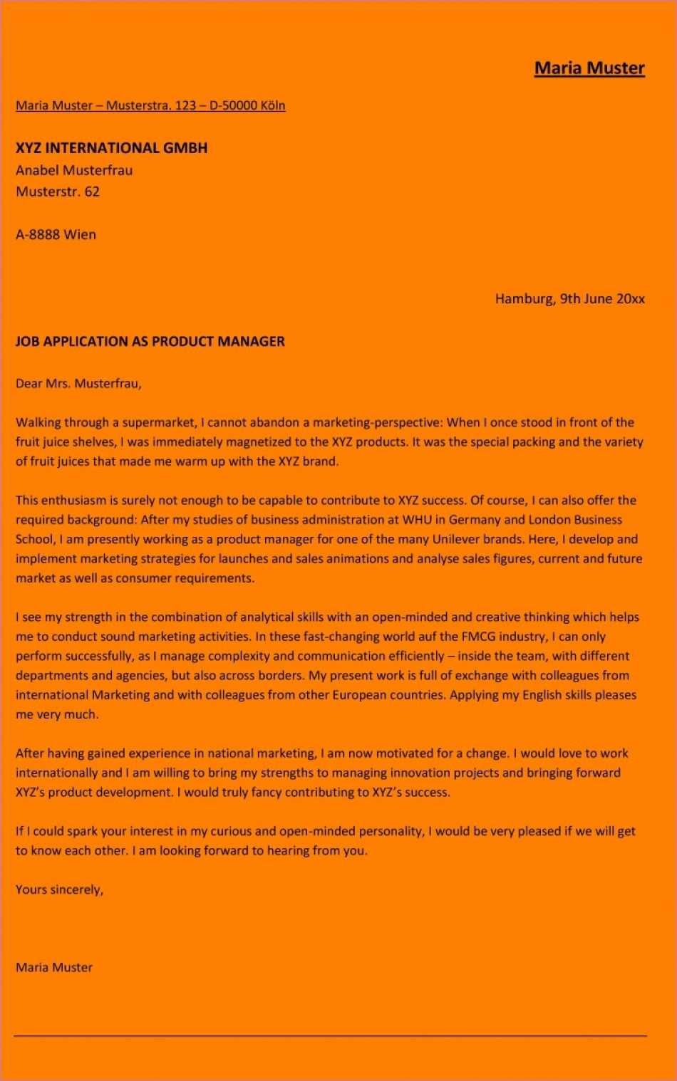 Qualifiziert Bewerbung Schreiben Muster Azubiyo Muster Bewerbung