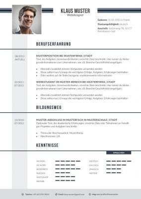 Lebenslauf Vorlage 12 Lebenslauf Design Vorlagen Lebenslauf Und