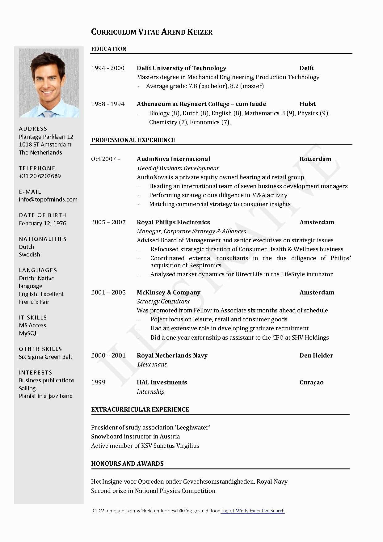 Cv Template Libreoffice Sample Resume Templates Downloadable