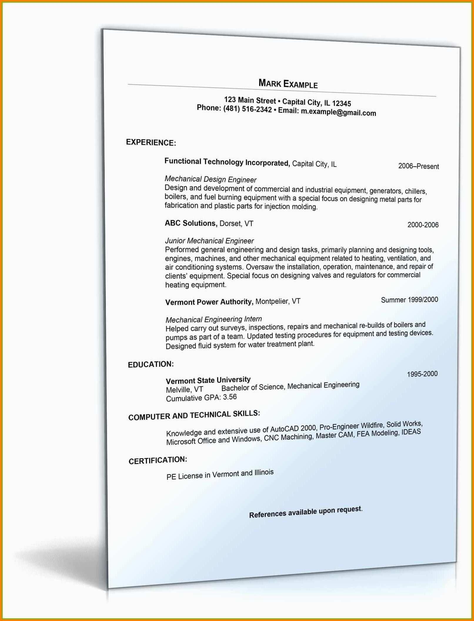 Neu Lebenslauf Vorlage 2016 Kostenlos Briefprobe Briefformat