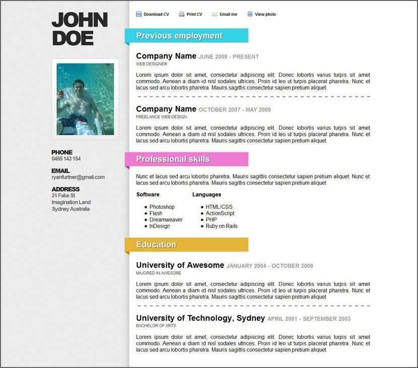 45 Free Modern Resume Cv Templates Minimalist Simple Clean Design Free Resume Template Download Free Resume Template Word Downloadable Resume Template
