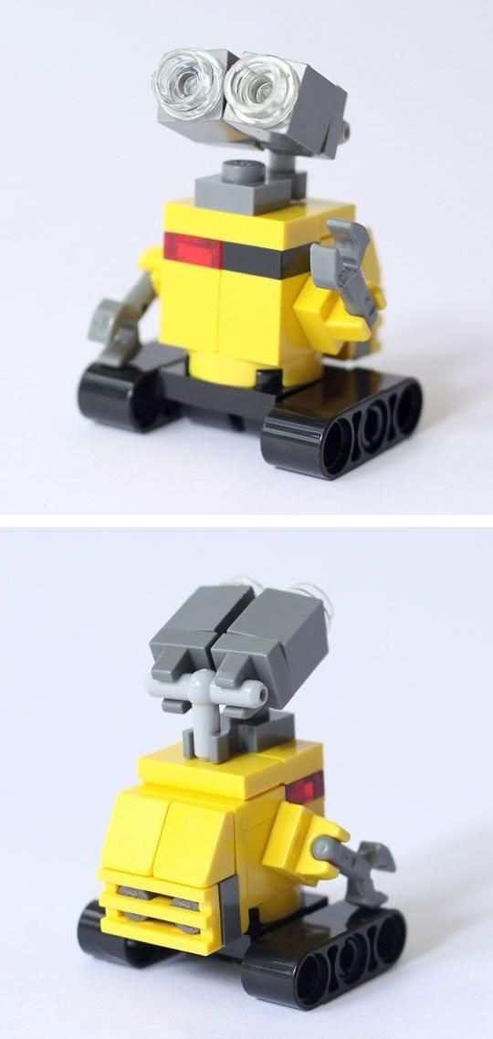 Wall E Custom Lego Build By Bricksben On Etsy Lego Wall E