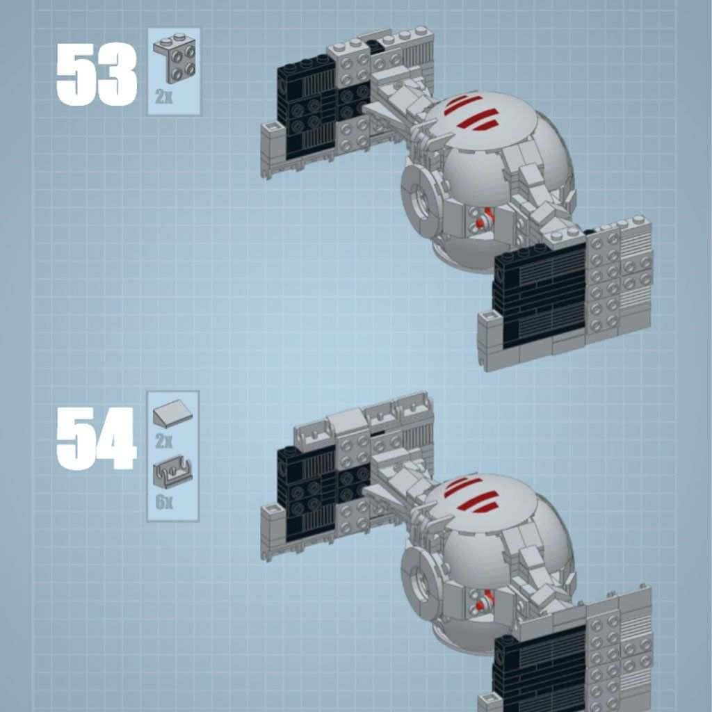 The Perfect Lego Tie Interceptor Minifig Scale