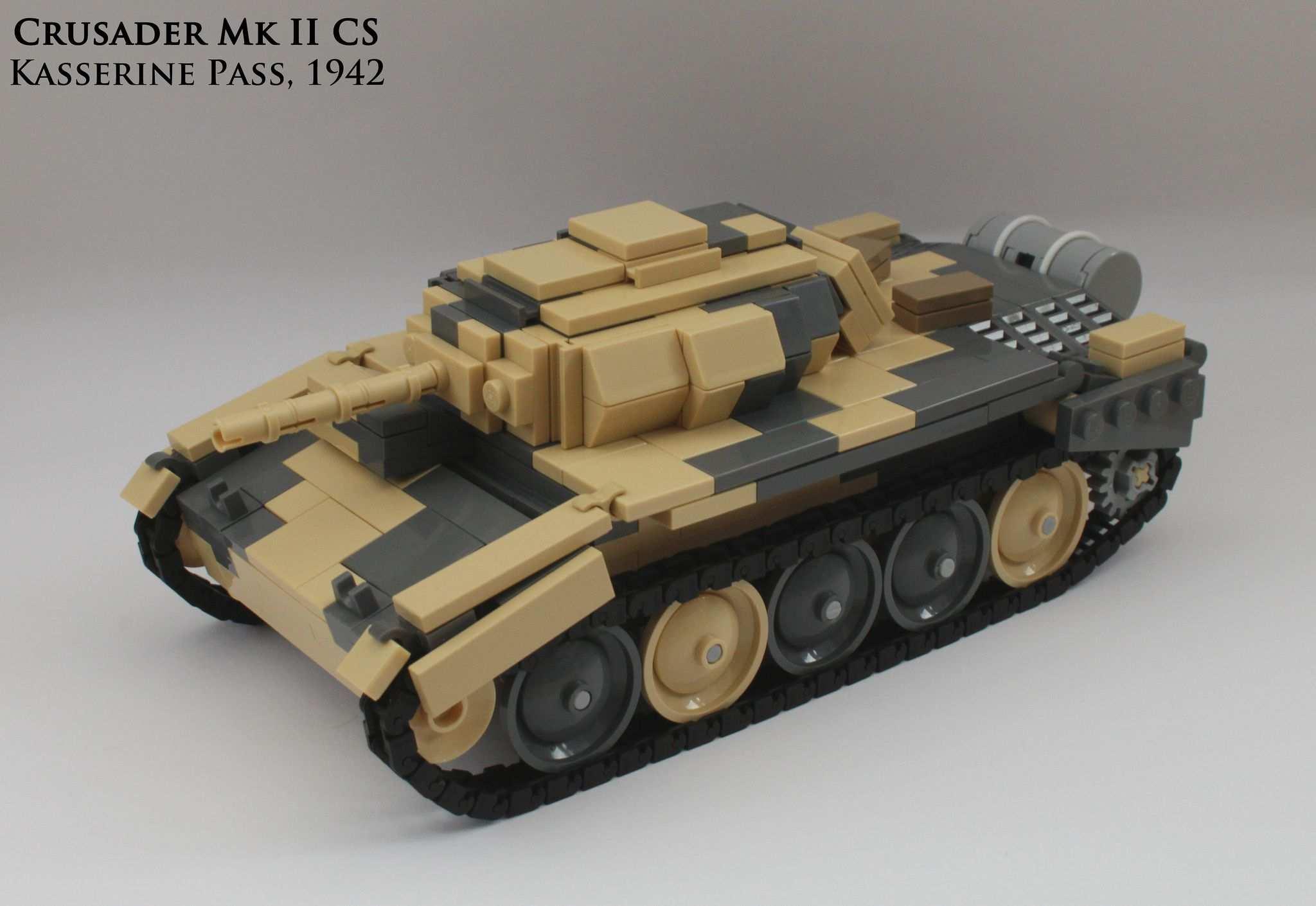 Crusader Mk Ii Cs Lego Military Lego Army Lego Projects