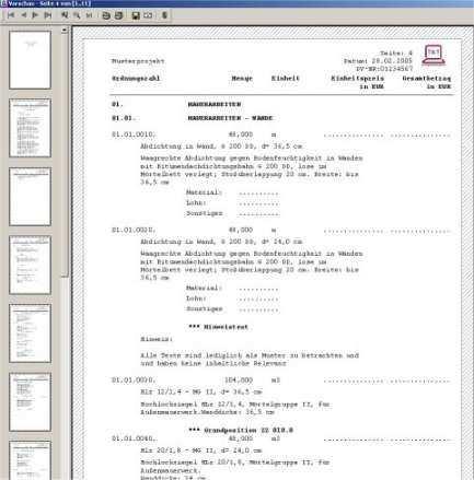 Leistungsverzeichnis Vorlage Word In 2020 Vorlagen Word