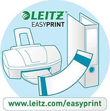 Amazon Com Leitz A4 1 5 Index Pc Printable Heavy Duty Plastic