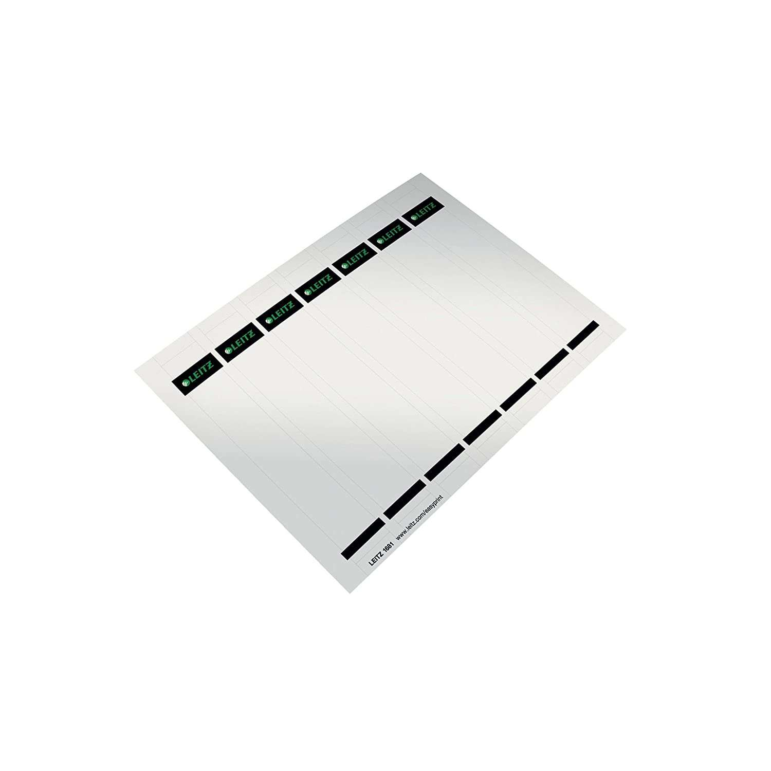 10 Pieces 32 X 190 Mm Leitz Self Adhesive Spine Labels For Lever