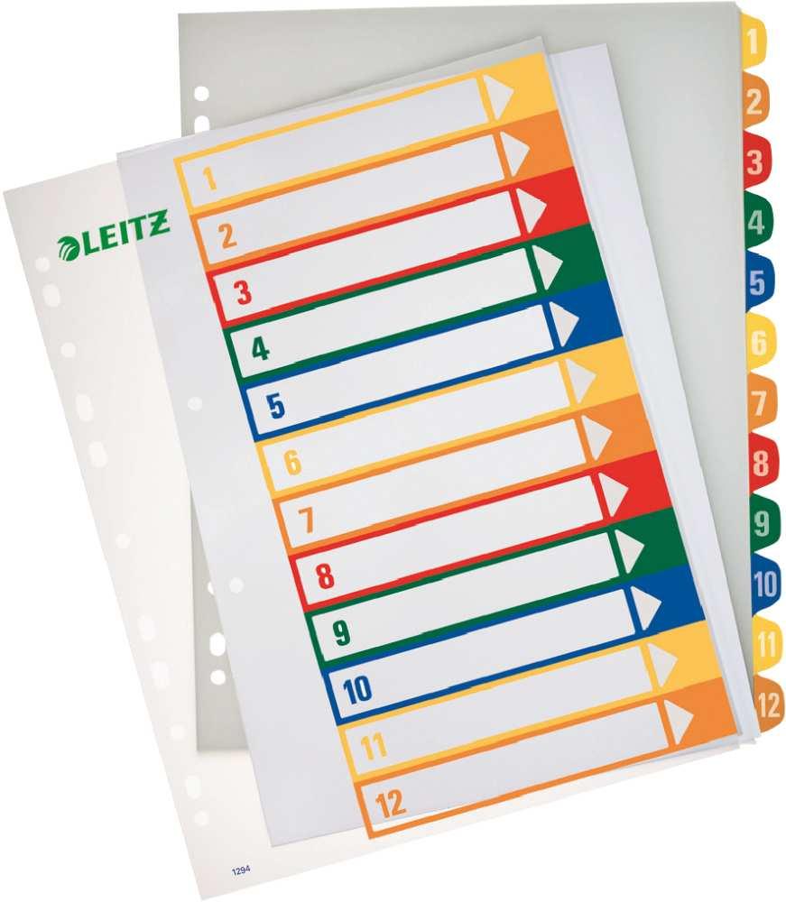 Leitz Register In A4 Taben 1 12
