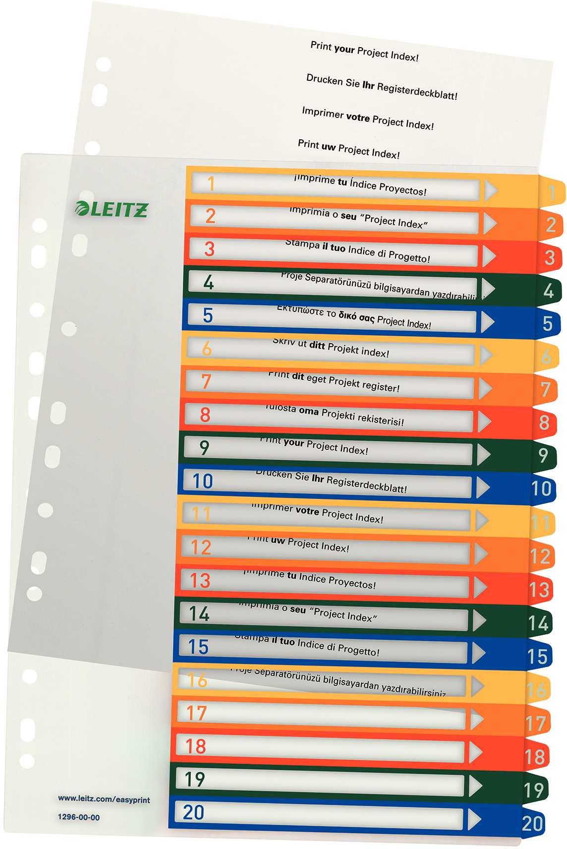 Leitz Register Taben 1 20