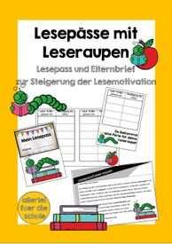 Die Lesepasse Konnen In Der Grundschule Zur Steigerung Der
