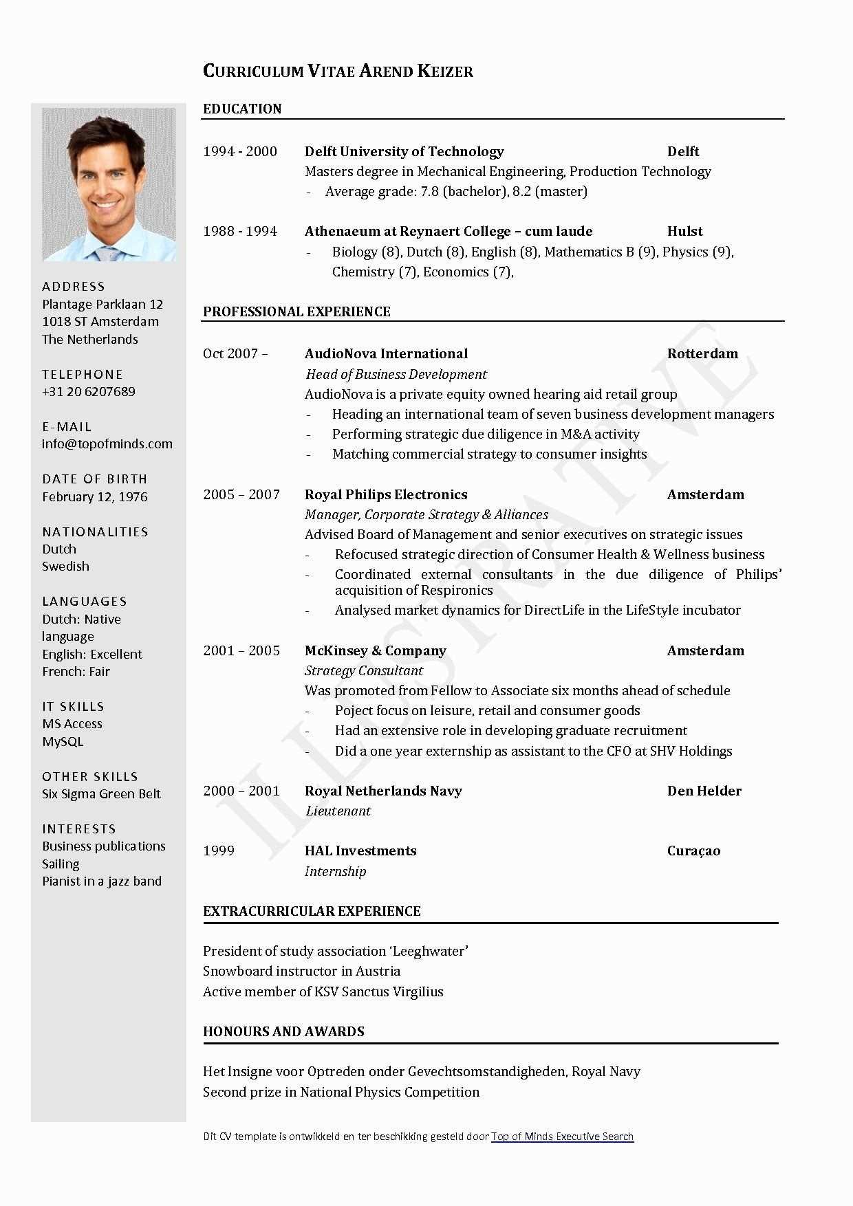 Cv Template Libreoffice Sample Resume Templates Downloadable