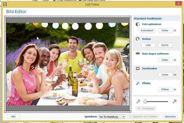 Handbuch Zur Erstellung Von Fotobuchern Mit Der Lidl Fotos