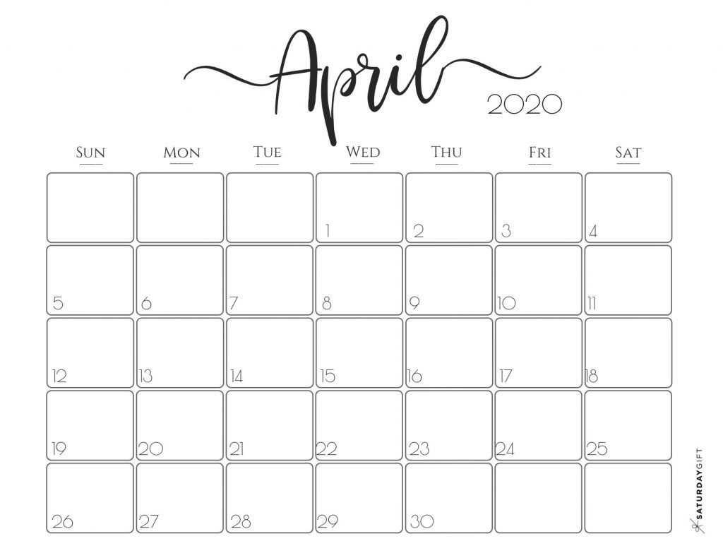 Elegant 2020 Calendar Free Printables Kalender Zum Ausdrucken