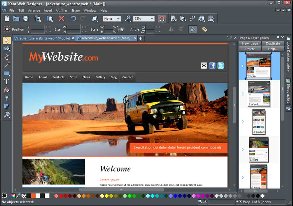 Magix Web Designer Download Chip