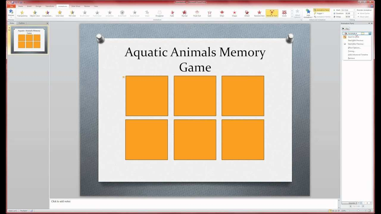 Memory Game Part Ii Youtube