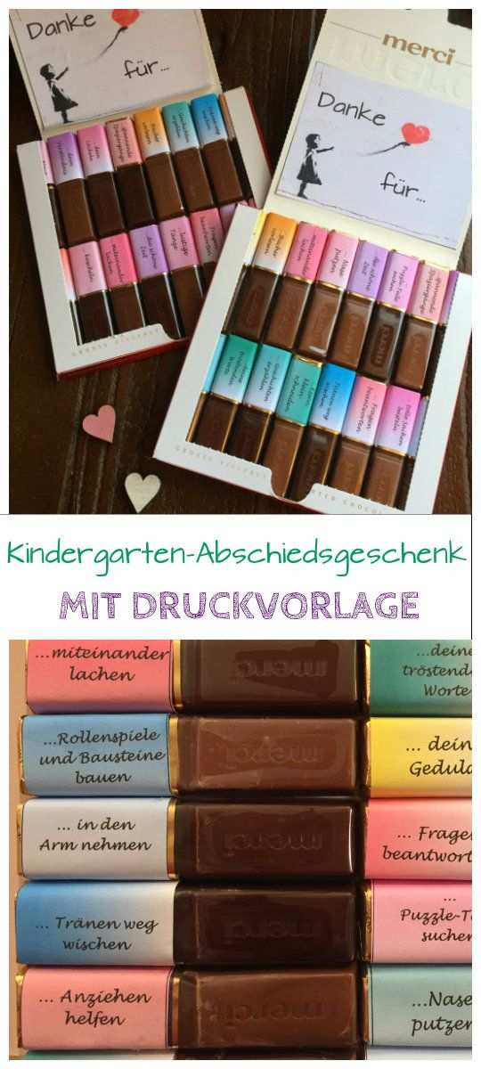 Abschiedsgeschenk Kindergarten Geschenke Zum Abschied