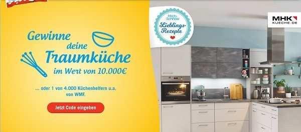 Milchschnitte Gewinnspiel 10 000 Euro Kuche Und Kuchenhelfer