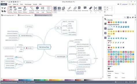 Eine Einfache Mindmap Effizient Zu Zeichnen Mindmap Erstellen