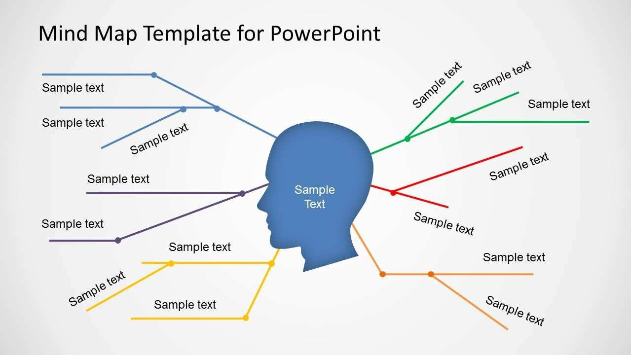 Simple Mind Map Template For Powerpoint Simple Mind Map Mind