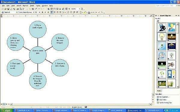 Wie Sie Microsoft Word Verwenden Um Eine Einfache Mind Map