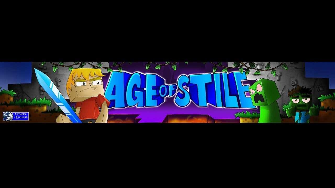 Youtube Banner Design Minecraft