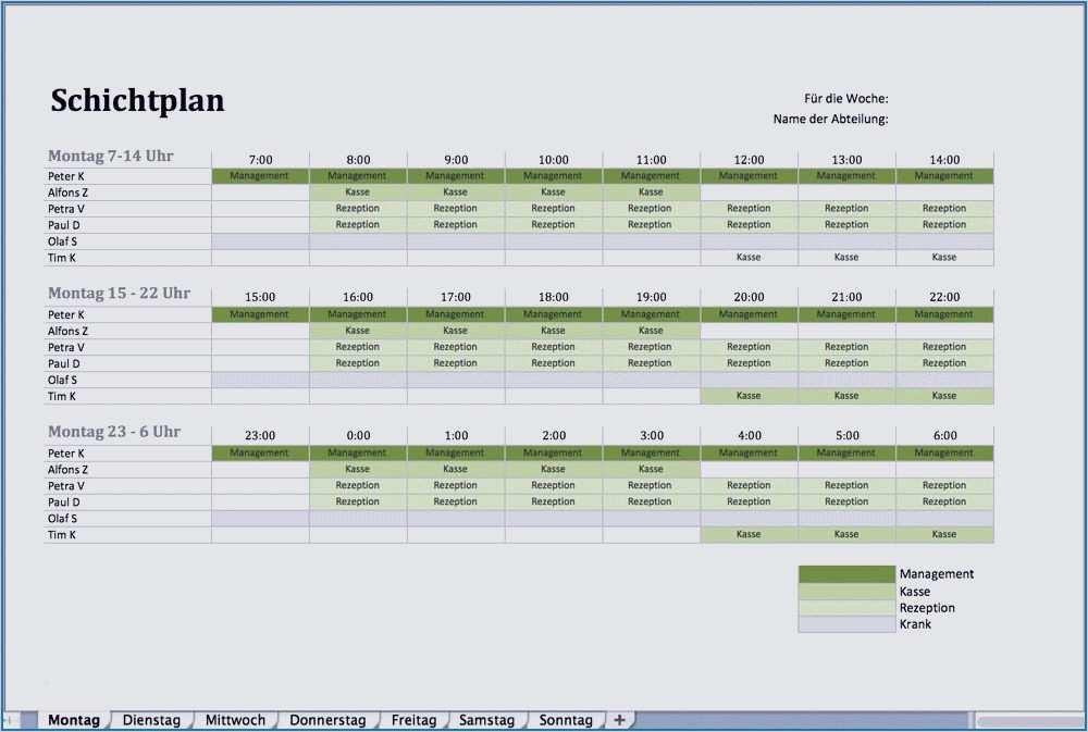 Monatsdienstplan Excel Vorlage 19 Erstaunlich Diese Konnen