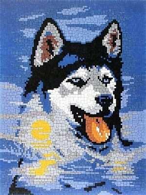 Mini Stecksystem Husky 41138 Amazon De Spielzeug Ministeck Pixel Kunst Kreuzstich Tiere