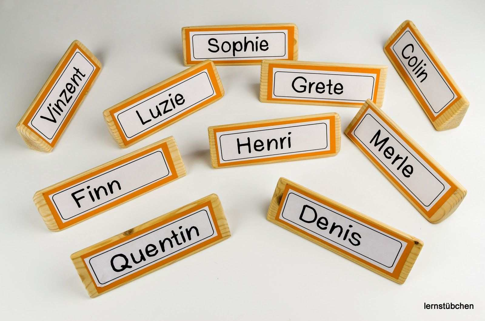 Mein Start Mit Den Namensschildern Namensschilder Flugblatt