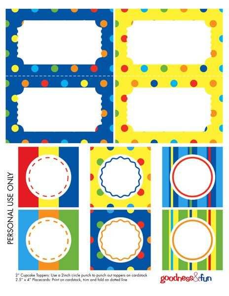 Free Cute Labels Mit Bildern Aufkleber Basteln Kinder