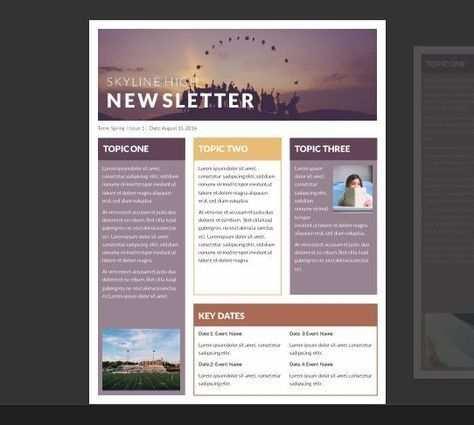 15 Kostenlose Microsoft Word Newsletter Vorlagen Fur Lehrer Und