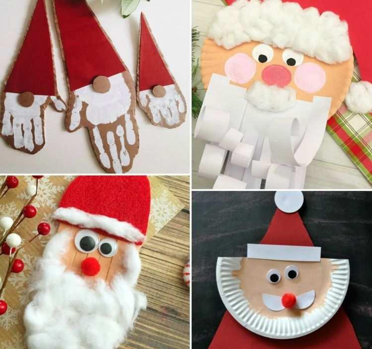 Nikolaus Basteln Mit Kindern Einfache Weihnachtsbasteleien Mit