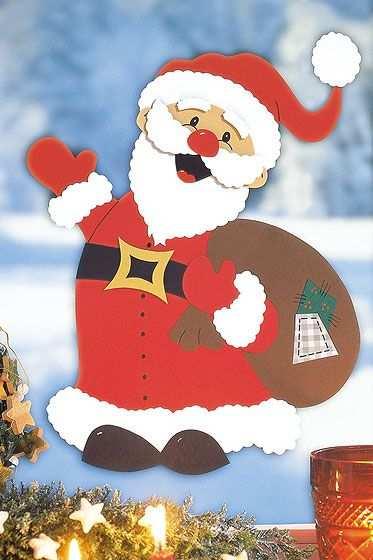 Weihnachtsmann Basteln Weihnachtsmann Basteln Bastelvorlagen