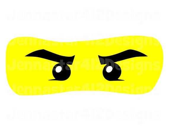 Lego Inspired Ninjago Eyes Diy Printable Von Jennastar412designs