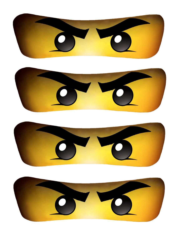Green Ninja Eyes Instant Download High Resolution Ninja
