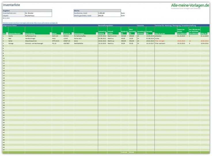 Inventory List Is A Free Excel Template That Will Help You With