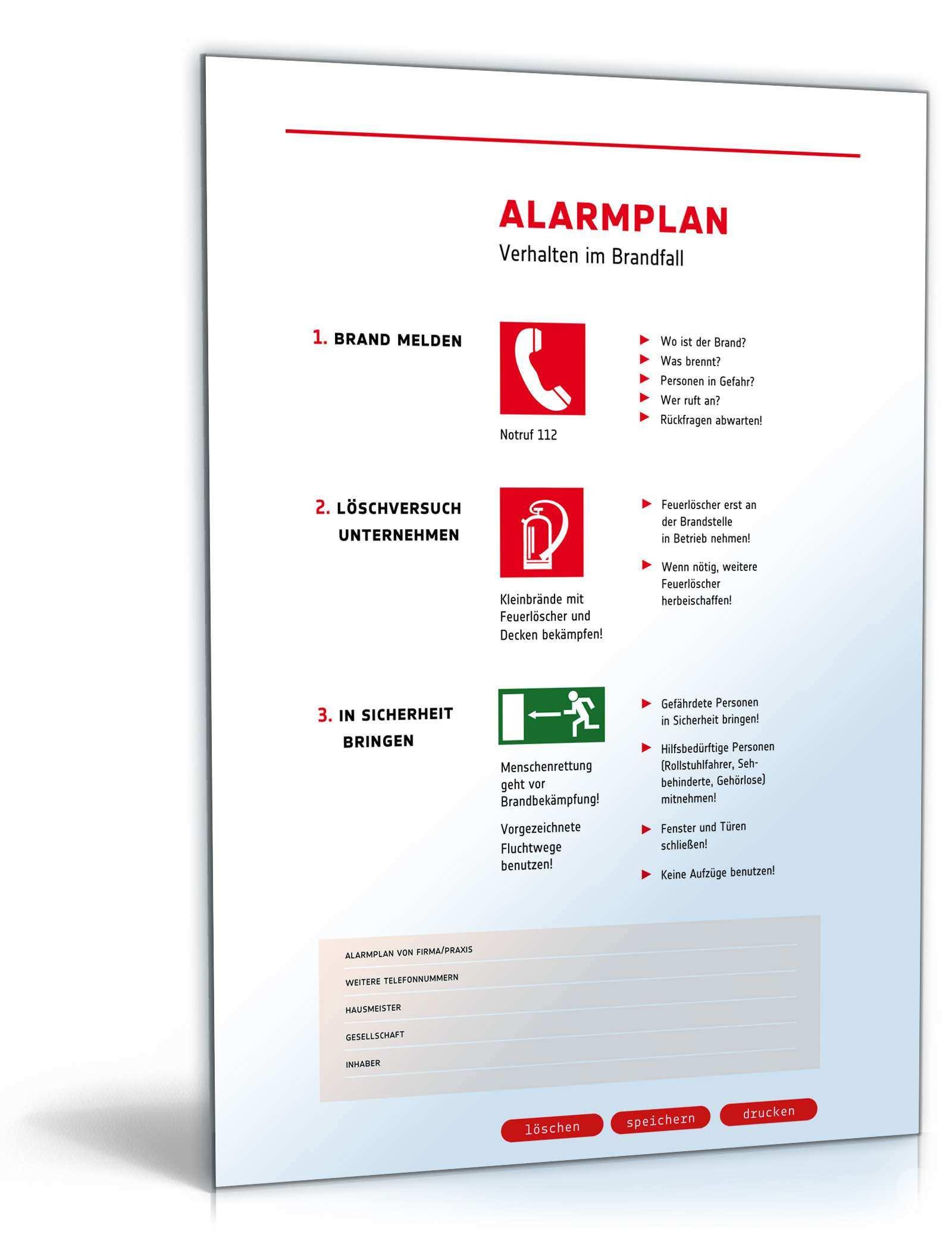 Das Grosse Arbeitsschutz Paket Vorlagen Zum Download