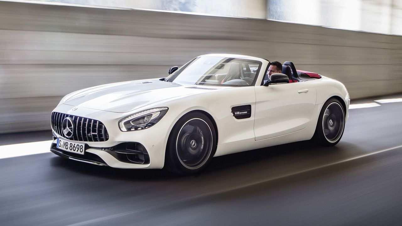 Mercedes Amg Gt Roadster Revealed Ahead Of Paris Debut Mercedes
