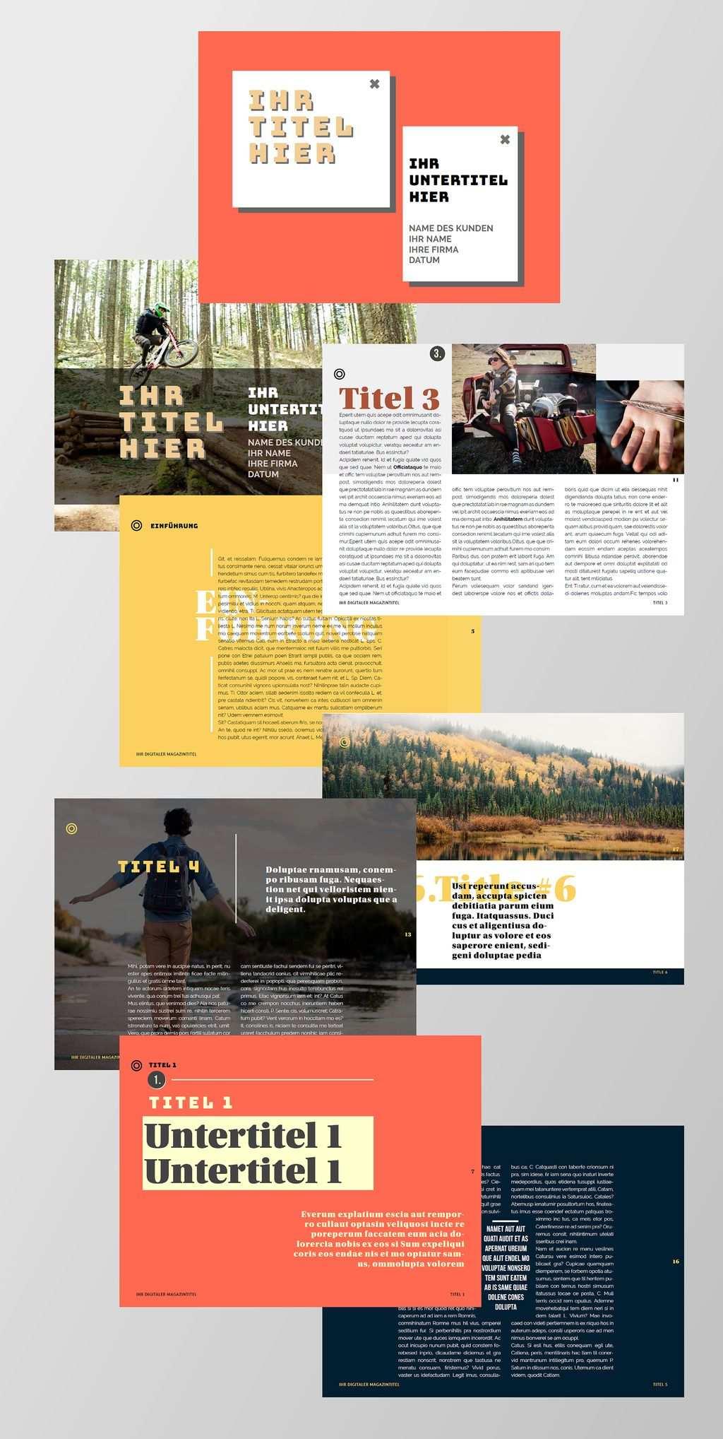 Kostenlose Indesign Vorlagen Fur Magazine Creative Connection