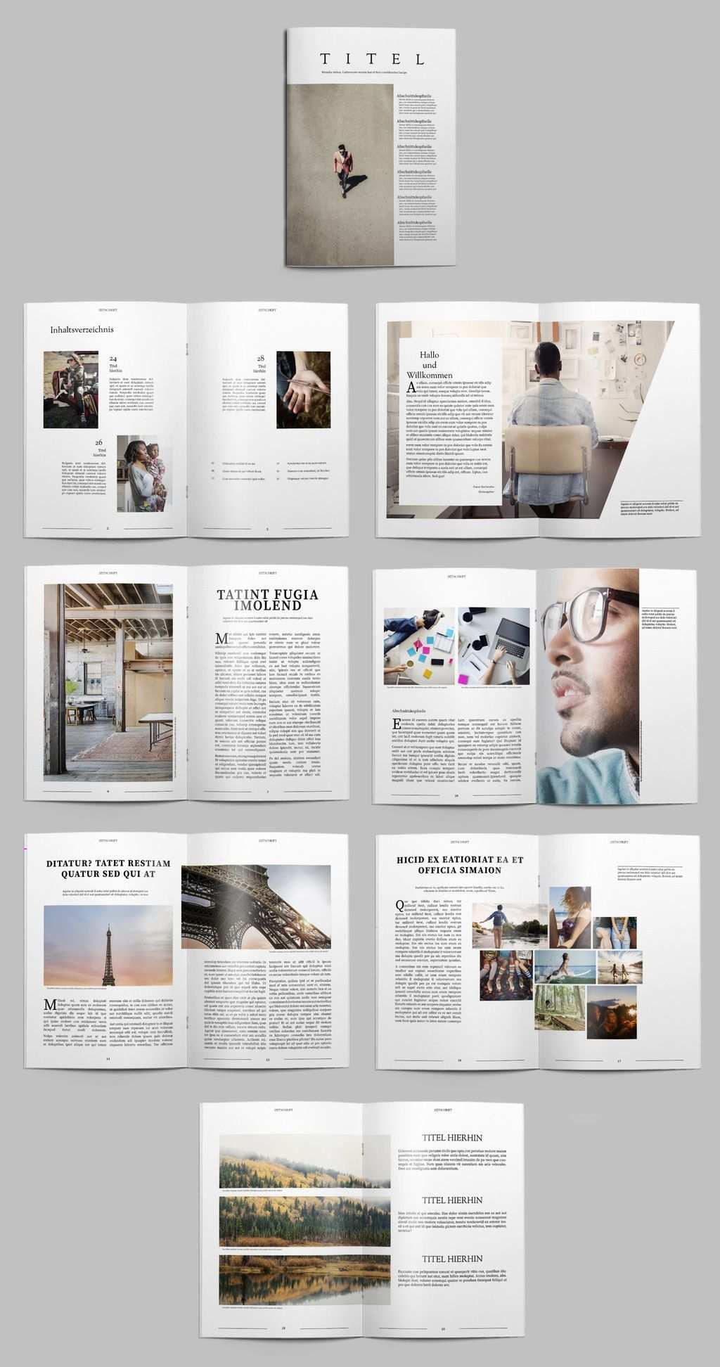 Kostenlose Indesign Vorlagen Fur Magazine Indesign Vorlagen