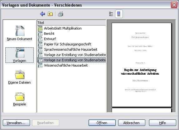 Openoffice Vorlagen Paket Heise Download