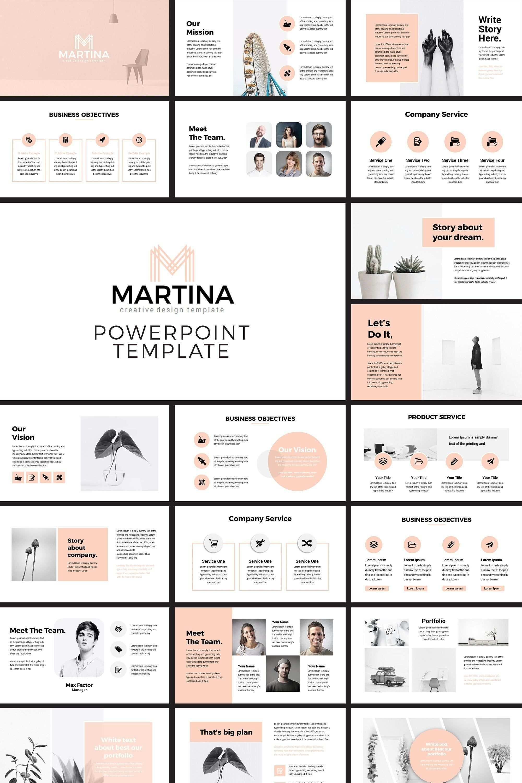 Modern Powerpoint Presentation Template In 2020 Broschure