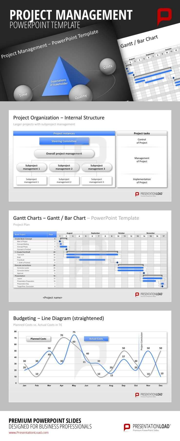 Projektmanagement Powerpoint Vorlage Projektmanagement