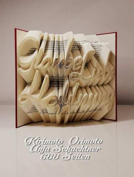 Orimoto Kirimoto Buch Glaube Liebe Hoffnung Kirimoto Orimoto