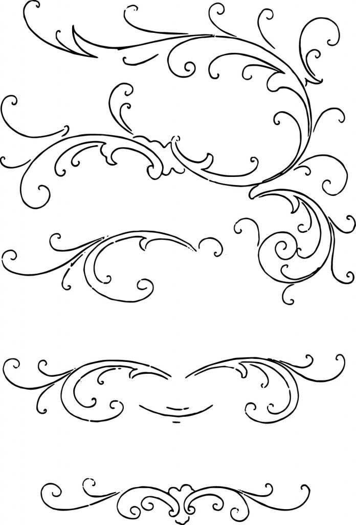 Free Clip Art Calligraphy Ornaments Vector And Images Clipart