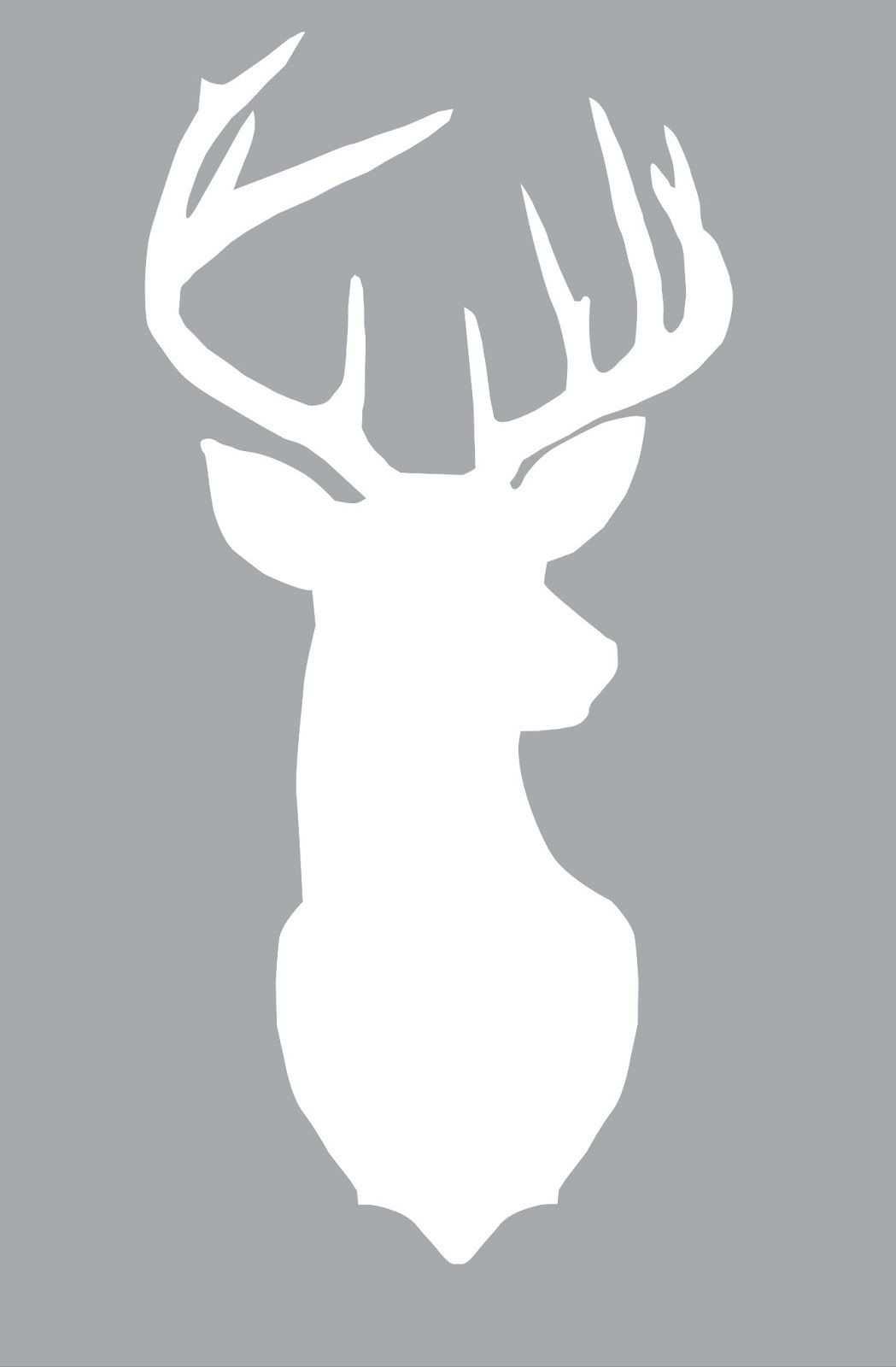 Freebie Deer Silhouette Ideias De Pinturas Silhueta Colcha De